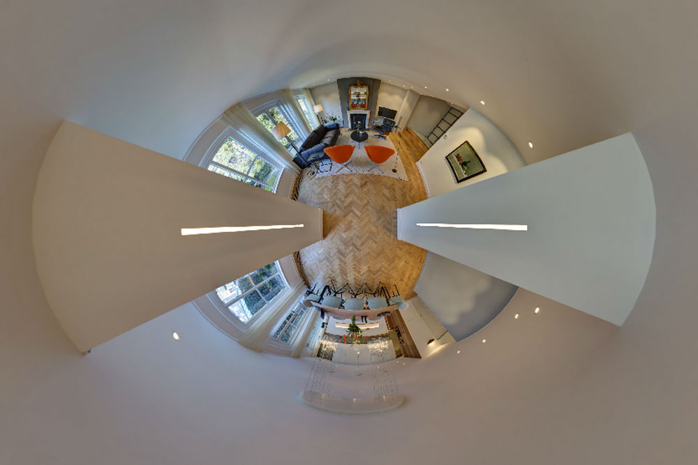 360º panorama appartement Herengracht