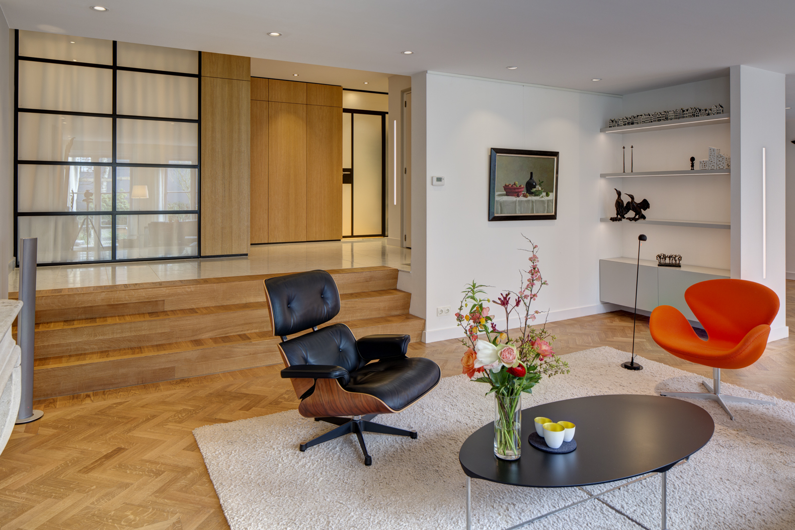 Verbouwing appartement Herengracht Amsterdam